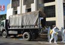 Exército realizou completa desinfecção no Paço Municipal