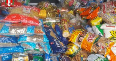Conexão Solidária: drive-thru para doações arrecadou 2 toneladas de produtos