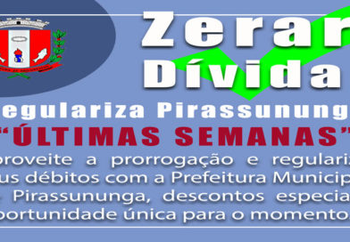 Regulariza Pirassununga – Últimas semanas.