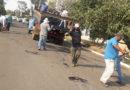 Secretaria de Obras faz Operação Tapa-buracos