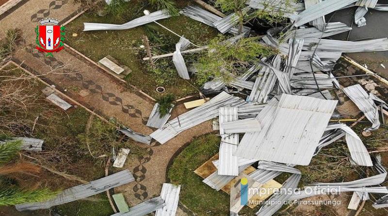 Defesa Civil ratifica dados de tempestade