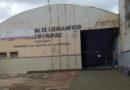 """TEMPORAL DANIFICOU O PRÉDIO DO CENTRO DE TREINAMENTO """"ATILIO FÁVARO"""" ONDE OCORREM OS CURSOS DO SENAI"""